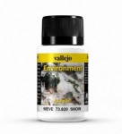 VAL73820       Vallejo Weathering Effects 40ml - Snow