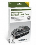 VALLEJO DUNKELGRAU GERMAN DARK GREY AFV PAINING SYSTEM 78.400