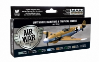 VALLEJO LUFTWAFFE MARITIME & TROPICAL COLOURS #71164