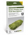 VALLEJO MODERN RUSSIAN GREEN SET #78.408