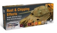 VALLEJO RUST & CHIPPING EFFECTS SET #71.186