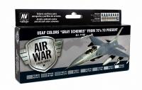 VALLEJO USAF COLOURS