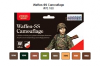 VALLEJO WAFFEN-SS CAMOUFLAGE PAINT SET #70180