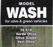 VALLEJO WASH FOR OLIVE & GREEN VEHICALS #76-519