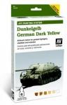 VALLEJO DUNKELGELB GERMAN DARK YELLOW AFV PAINTING SYSTEM 78.401