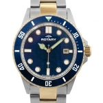 Rotary Aquaspeed Gents Two-tone Case Watch