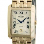 Rotary Classics Gents Gold-plated Case Watch
