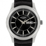 Rotary Gents White Case Watch