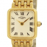 Rotary Ladies Gold-plated Case Watch