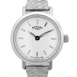 Rotary Ladies White Case Watch