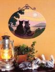 Anchor/Id�na Long Stitch Kit - Cats Sunset