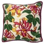 Cleopatra's Needle Needlepoint Cushion Kit - Pink Honeysuckle