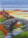 Derwentwater Long Stitch Kit -  Seasons/Autumn Evening
