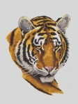 Grafitec Printed Tapestry/Needlepoint � Tiger Portrait