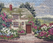 Jolles Tramme Tapestry/Needlepoint Kit - Oak Cottage