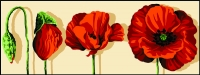 Margot de Paris Tapestry/Needlepoint � Growing Poppies