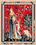Margot de Paris Tapestry/Needlepoint � Lady Unicorn/Touch