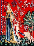Margot de Paris Tapestry/Needlepoint � Lady Unicorn/Touch