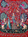 Margot de Paris Tapestry/Needlepoint � Lady and the Unicorn