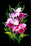 Margot de Paris Tapestry/Needlepoint � Orchids