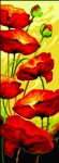 Margot de Paris Tapestry/Needlepoint � Poppies in the Wind