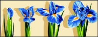 Margot de Paris Tapestry/Needlepoint � Sprouting Iris