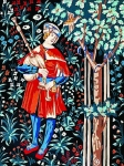 Margot de Paris Tapestry/Needlepoint � The Minstrel