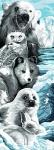 Margot de Paris Tapestry/Needlepoint � Winter Wildlife