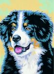 Margot de Paris Tapestry/Needlepoint � Bernese Mountain Dog