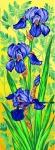 Margot de Paris Tapestry/Needlepoint � Irises Panel