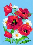 Margot de Paris Tapestry/Needlepoint � Poppies