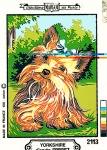 Margot de Paris Tapestry/Needlepoint � Yorkshire Terrier
