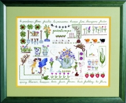 Royal Paris Freestyle Embroidery Kits - Spring/Summer Sampler