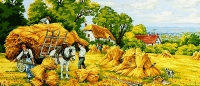Royal Paris Needlepoint/Tapestry Canvas - Harvest Time