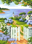 Royal Paris Starter Tapestry/Needlepoint Kit � Sea View