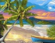 Royal Paris Tapestry Canvas � Paradise Palms