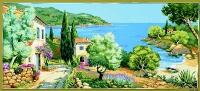 Royal Paris Tapestry/Needlepoint - Coastal View (Littoral)