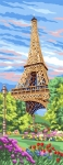 Royal Paris Tapestry/Needlepoint - Eiffel Tower