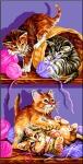 Royal Paris Tapestry/Needlepoint - Kitten Games