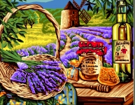 Royal Paris Tapestry/Needlepoint - Scents Provencal
