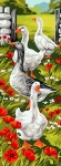 Royal Paris Tapestry/Needlepoint Canvas - Geese Panel