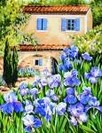 Royal Paris Tapestry/Needlepoint � Iris Garden