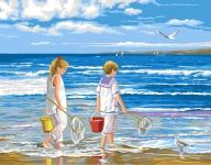 Royal Paris Tapestry/Needlepoint � Summer Beach