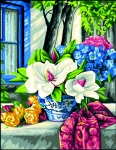 Royal Paris Tapestry/Needlepoint Canvas � The Magnolias