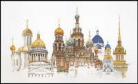 Thea Gouverneur Cross Stitch Kit - St. Petersburg