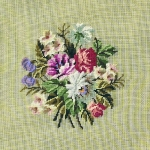 Trammed Tapestry/Needlepoint Kit - Floral Bouquet