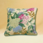 Trammed Tapestry/Needlepoint Kit - Hydrangeas Cushion