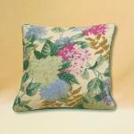 Trammed Tapestry/Needlepoint Kit - Hydrangeas Cushion