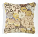 Trammed Tapestry/Needlepoint Kit - Klimt Golden Swirls