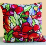 Trammed Tapestry/Needlepoint Kit - Tiffany Cushion II